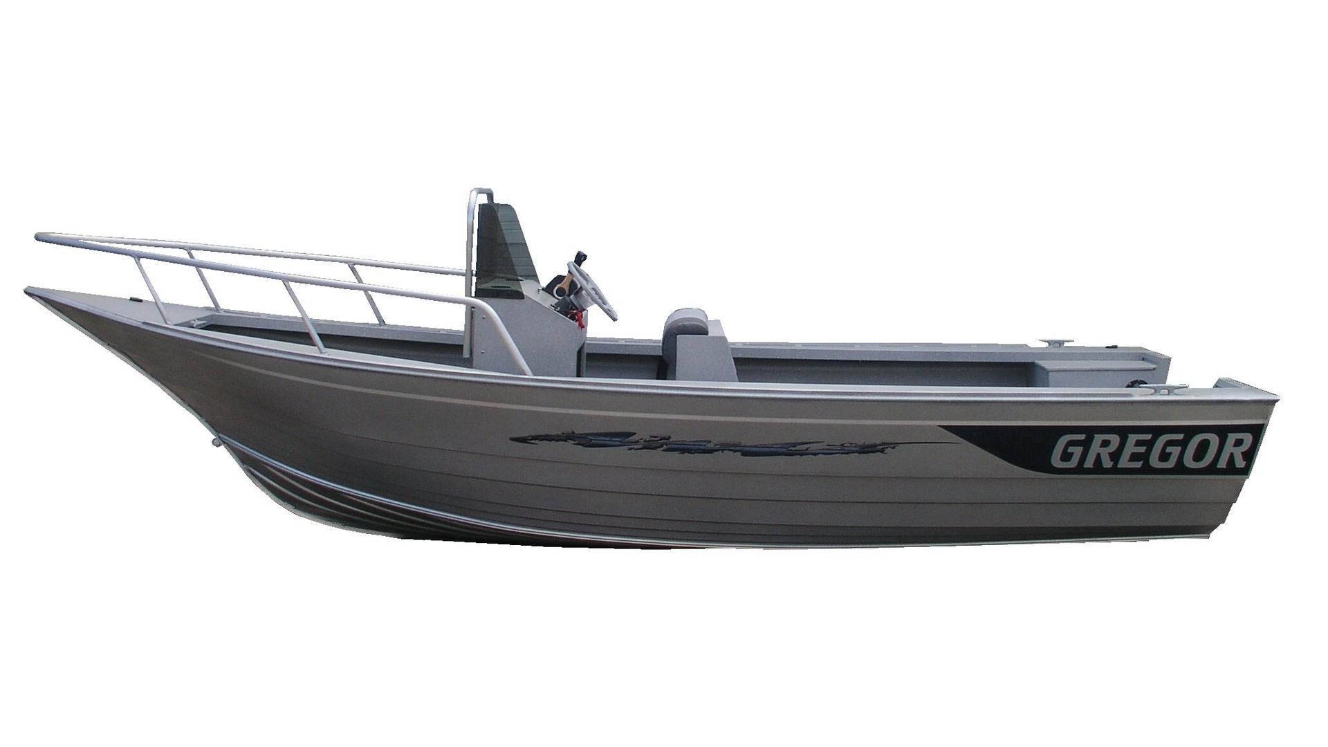 Pac 18 Center Console Gregor Welded Boats